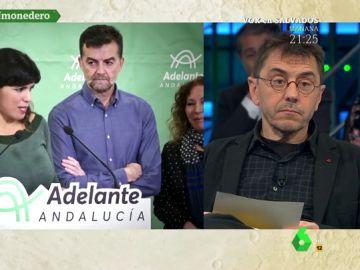 Juan Carlos Monedero, en laSexta Noche