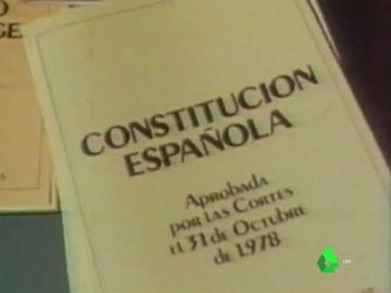 Imagen de la Constitución Española