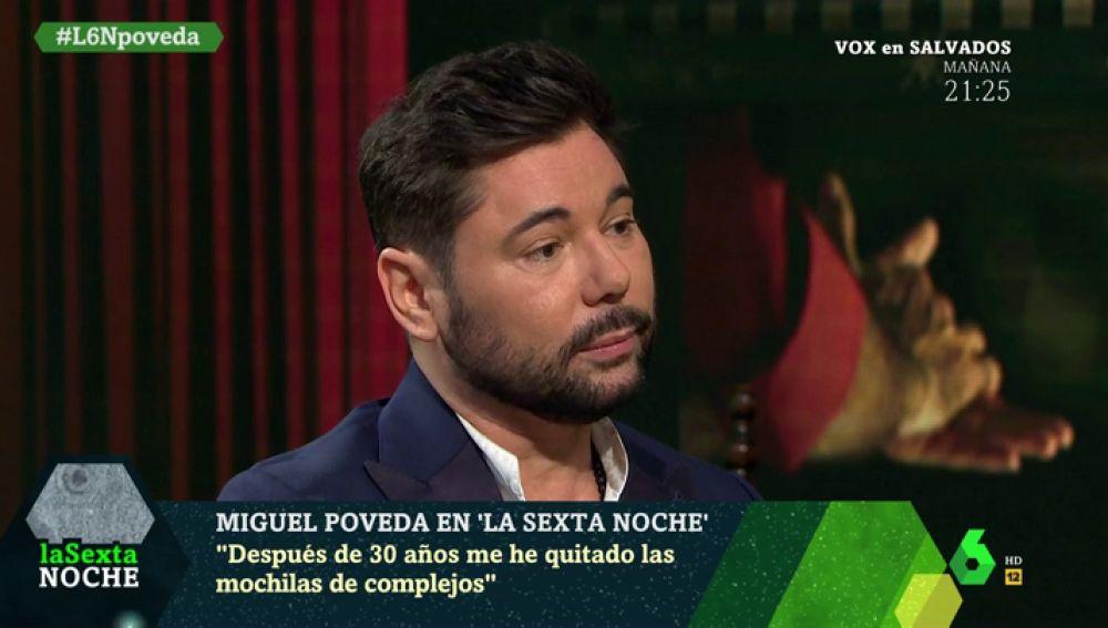 Miguel Poveda en laSexta Noche