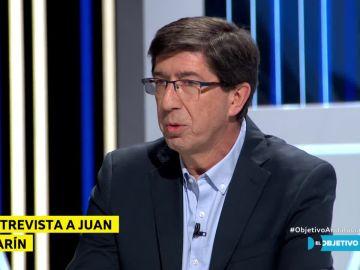 Juan Marín, en El Objetivo