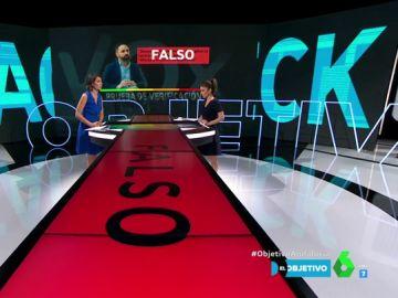 Fact-check a Santiago Abascal en El Objetivo