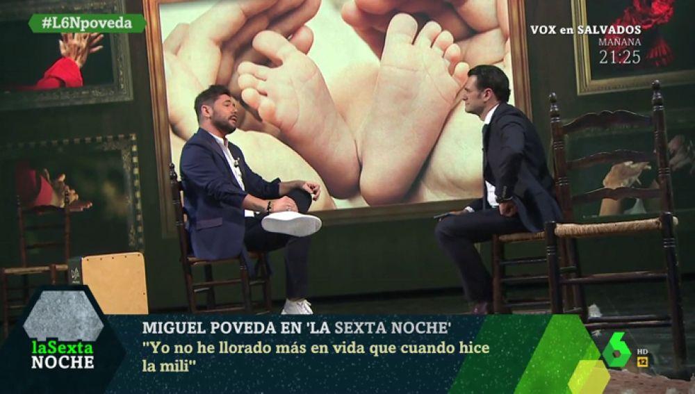 Miguel Poveda, en laSexta Noche