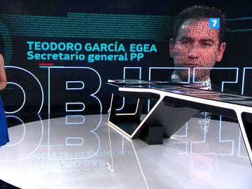 Teodoro Garcia, este domingo en El Objetivo con Ana Pastor