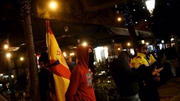 Uno de los ultras que protagonizó el escrache a Pablo Iglesias