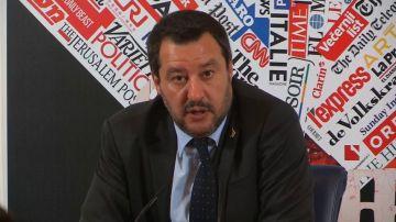 El ministro de Interior de Italia, Matteo Salvini.