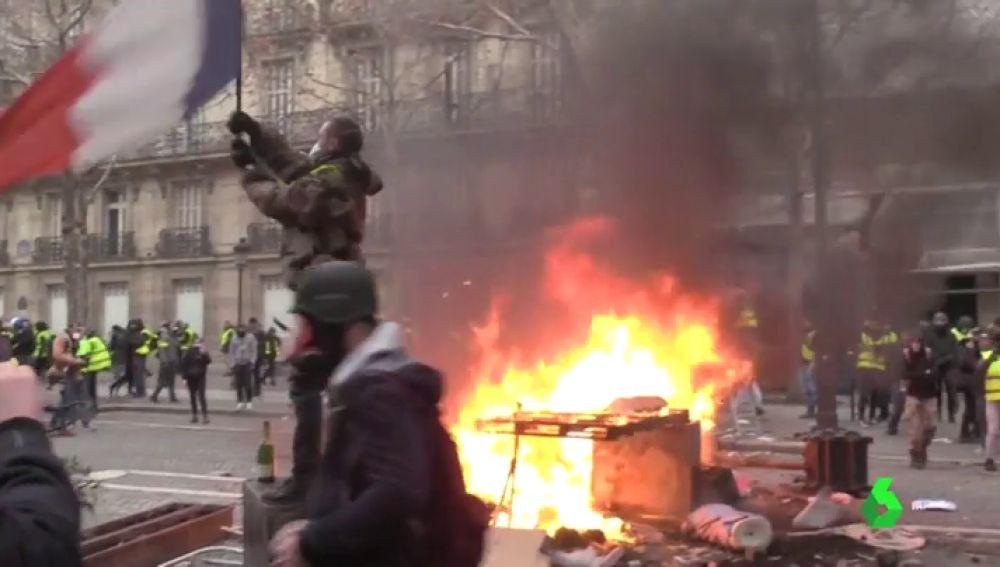 Las revueltas en las calles francesas no cesan