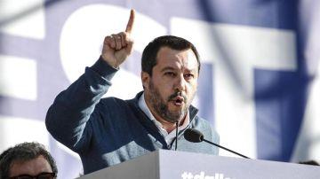 El primer ministro italiano, Matteo Salvini