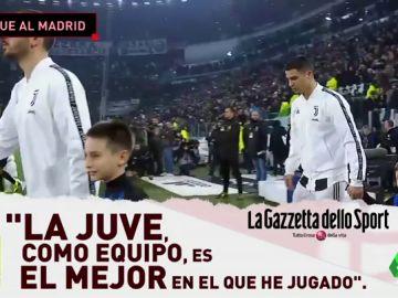 """Cristiano Ronaldo: """"En otros lugares alguien se siente más grande que los demás; en la Juventus son más humildes"""""""