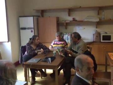 Las imágenes de Torra en el Monasterio de Montserrat tras arrancar su segundo día de huelga de hambre
