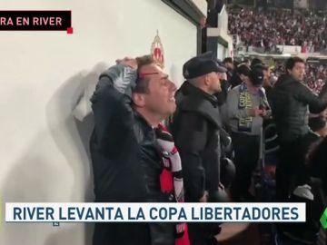 Locura con la victoria de River en la final de la Libertadoras contra Boca