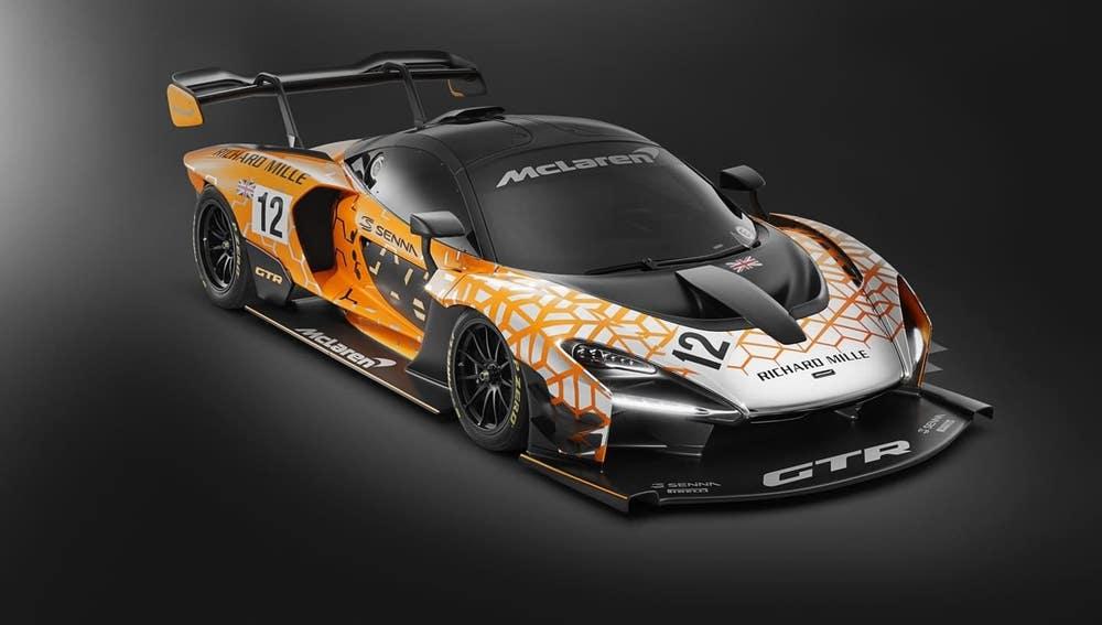 El McLaren Senna GTR puede ser considerado como un ejemplo