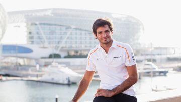 Carlos Sainz, piloto de McLaren