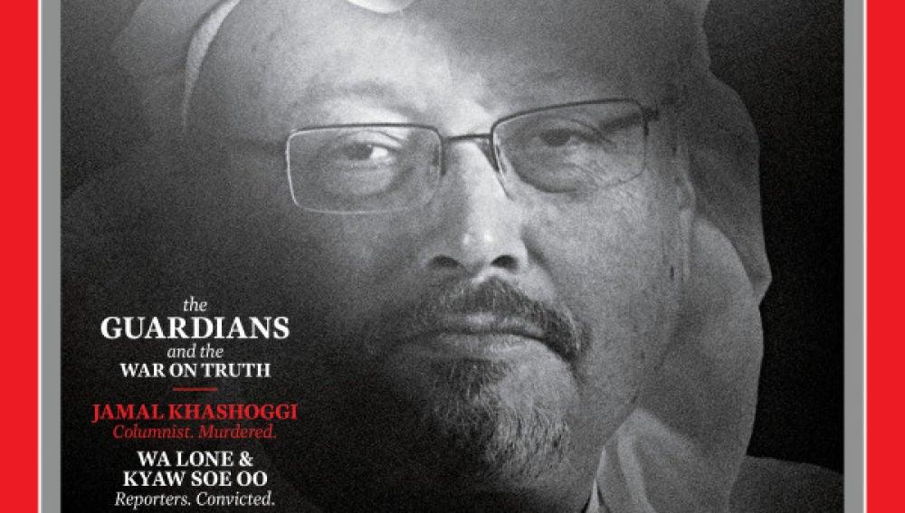 Jamal Khashoggi, persona del año por la revista 'Time'