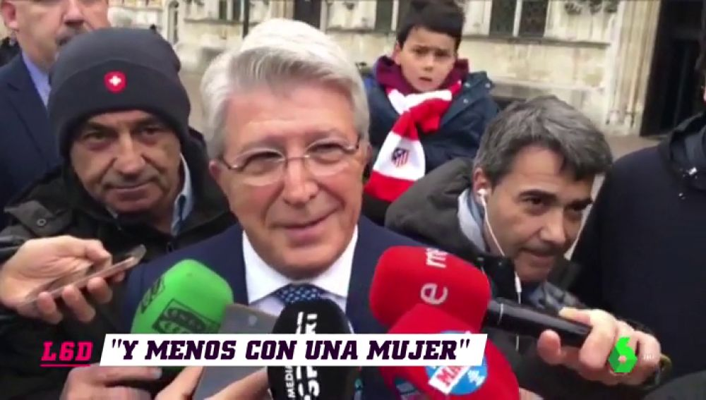 """Enrique Cerezo: """"Nunca hablo de dinero y menos con una mujer"""""""