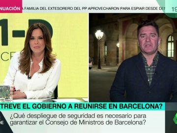 Carlos Quílez desgrana todos los detalles del dispositivo de seguridad del Consejo de Ministros del 21D