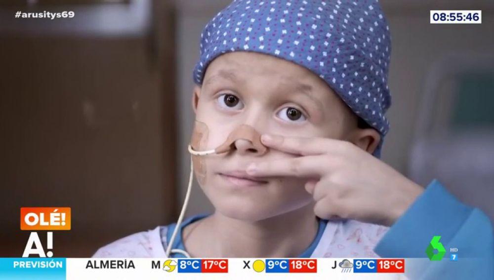 El emotivo vídeo de agradecimiento a Messi por su implicación en el cáncer infantil