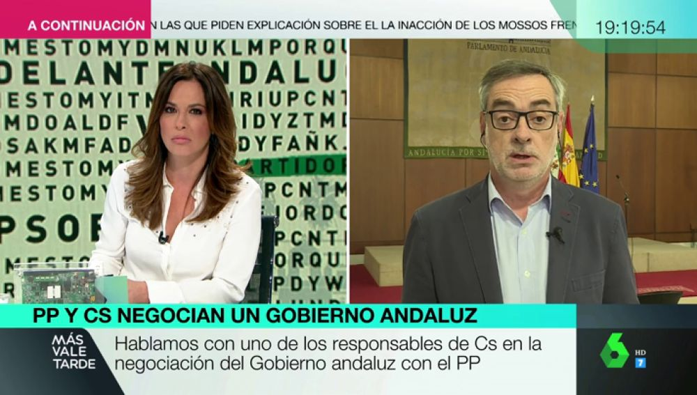 """Villegas no aclara si Cs contará con Vox para formar gobierno en Andalucía: """"Ya veremos"""""""