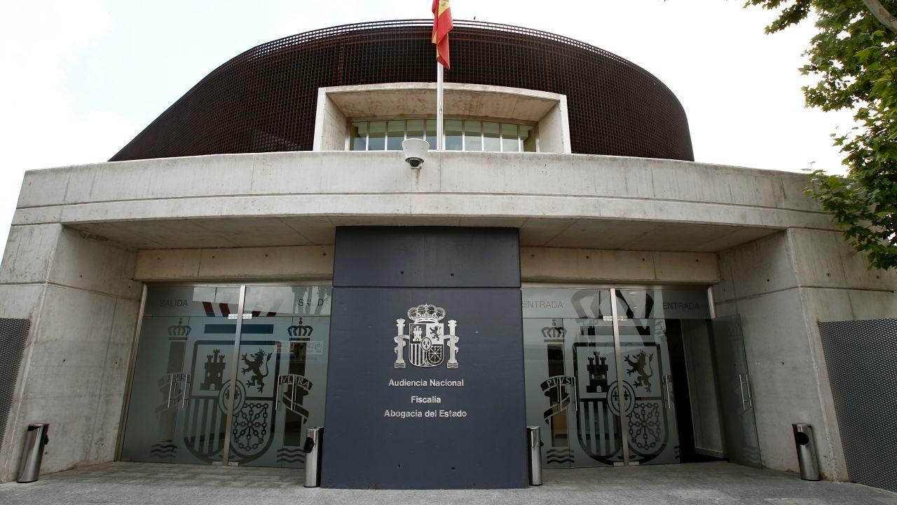 Fachada de la sede de la Audiencia Nacional-Fiscalia y Abogacía del Estado en San Fernando de Henares