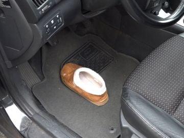 El truco del zapato