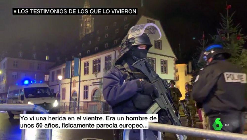 Caos, confusión y un miedo que no se va: así vivieron los testigos el atentado de Estrasburgo