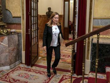 La presidenta del Congreso de los Diputados Ana Pastor
