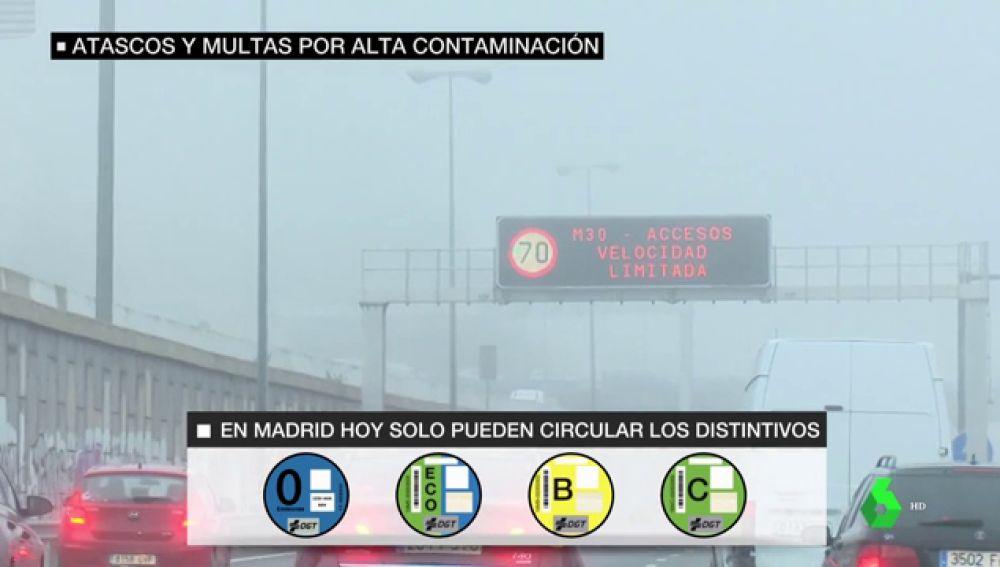 La nueva normativa anticontaminación de Madrid