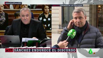 """Jordi Xuclà (PDeCAT), tras las actuaciones de los CDR: """"Yo apuesto por el diálogo en los parlamentos a cara descubierta y con argumentos"""""""