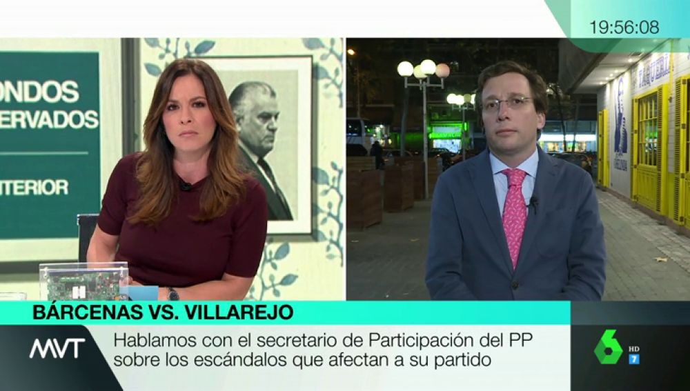 """Martínez-Almeida (PP), sobre Vox en Madrid: """"Pactaría con una fuerza política que impidiera el gobierno de la izquierda radical"""""""