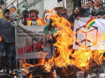 Las agrupaciones bolivianas contrarias a la reelección de Evo Morales