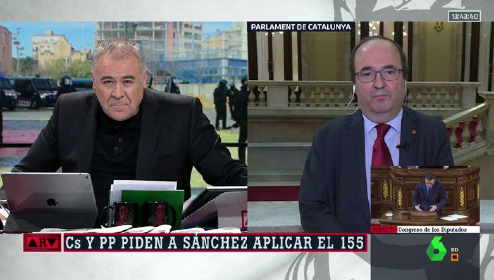"""Miquel Iceta: """"Defendemos la unidad de España, pero no somos los de 'una, grande y libre'"""""""