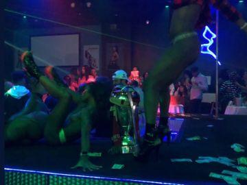 La Copa de la MLS, en un club de 'striptease'