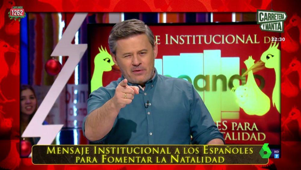 """La propuesta de Miki Nadal para fomentar la natalidad: """"Le pediremos a Julio Iglesias que vuelva para repoblar España"""""""