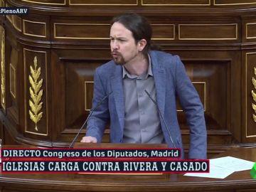 """El rifirrafe entre Iglesias y Rivera por los indultos a """"golpistas"""": """"Por respeto a la gente que representa, abra de vez en cuando un libro de historia"""""""