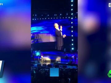 Las imágenes del lamentable concierto de Luis Miguel en México por el que ha sido abucheado