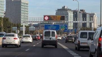 Restricciones al tráfico por contaminación.