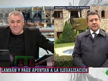 """García-Page, sobre la aplicación del 155: """"Cuando alguien proclama que su objetivo político es la desestabilización, tiene que haber una contestación jurídica"""""""