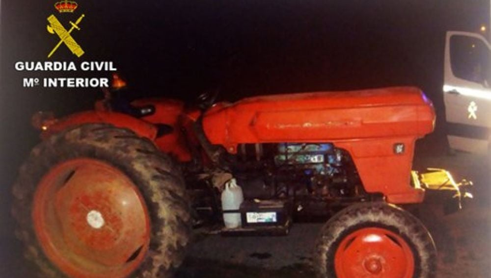 Tractor interceptado