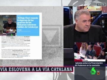 """La respuesta de Ferreras a los ataques de los """"muñequitos mediáticos de José Luis Moreno"""" que maneja Puigdemont"""