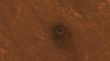 Imagen tomada desde el espacio del InSight
