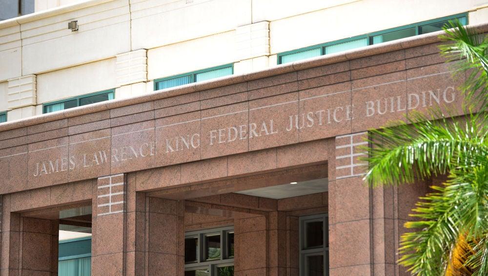 Vista del edificio de Justicia James L. King, ubicado en el Downtown de la ciudad de Miami, Florida (EEUU).