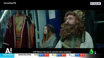 Los Reyes Magos dejan a sus camellos en Oriente: este año llegarán a Madrid en metro