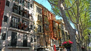 Imagen de archivo de la fachada de un edificio