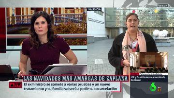 """Loreto Ochando: """"La juez mantiene una postura poco humana con Zaplana. El informe médico es lapidario, pone los pelos de punta"""""""