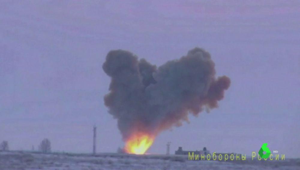 Rusia prueba su nuevo misil: llegaría en 15 minutos a Estados Unidos y es indetectable