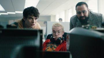 Protagonistas de 'Black Mirror: Bandersnatch'