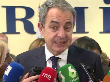 José Luis Rodríguez Zapatero habla sobre el Gobierno de Andalucía