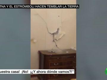 El Etna y el Estrómboli hacen temblar la tierra: así se estremeció Italia ante el impacto del terremoto