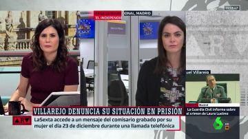 """Ángela Martialay, sobre el nuevo audio de Villarejo: """"Es un intento a la desesperada. Él tenia esperanzas en que Diego de Egea acordara su libertad"""""""