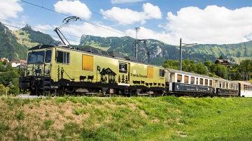 Tren del Chocolate en Suiza