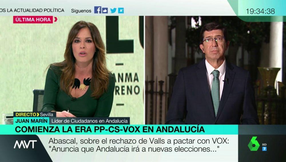Juan Marín, líder de Ciudadanos en Andalucía